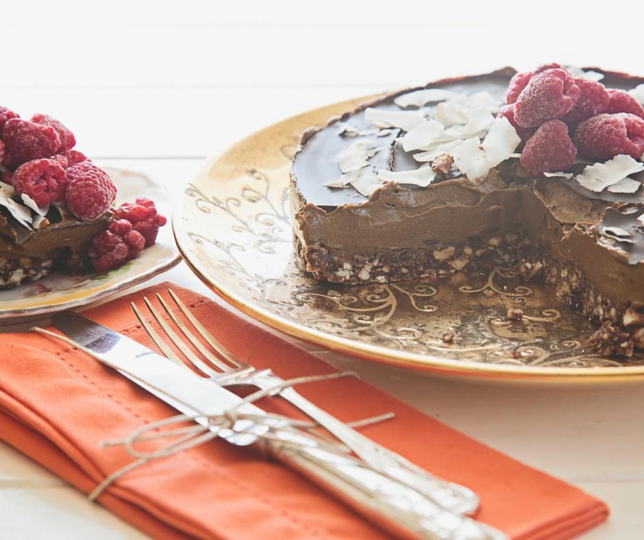 RAW CHOCOLATE CAKE RECIPE