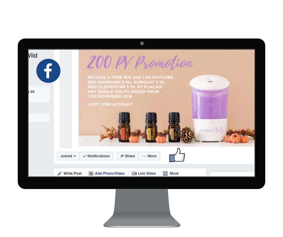 Join our Essential Oils Education FB group for support and MONTHLY GIVEAWAYS. Click on the Picture.