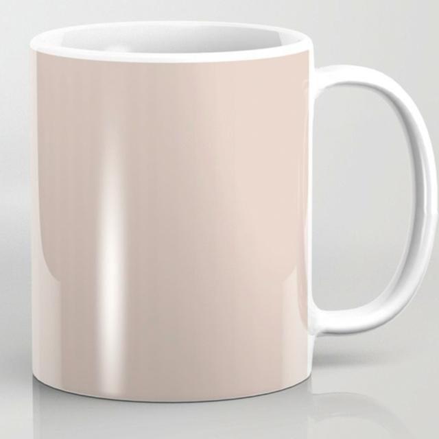 Lady Face Coffee Mug