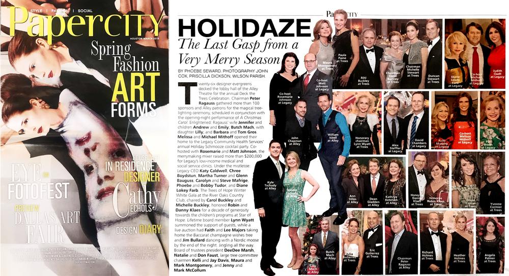 PaperCity Magazine Houston, March 2014