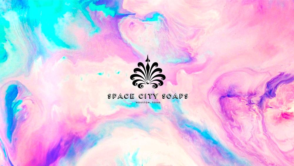 Space City Soaps Design by Phoebe Seward
