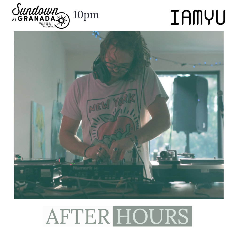 IAMYU - When Crowd Control ends at 10pm, we'll be moving the party downstairs to Sundown at Granada where IAMYU will be spinning some tracks til midnight!
