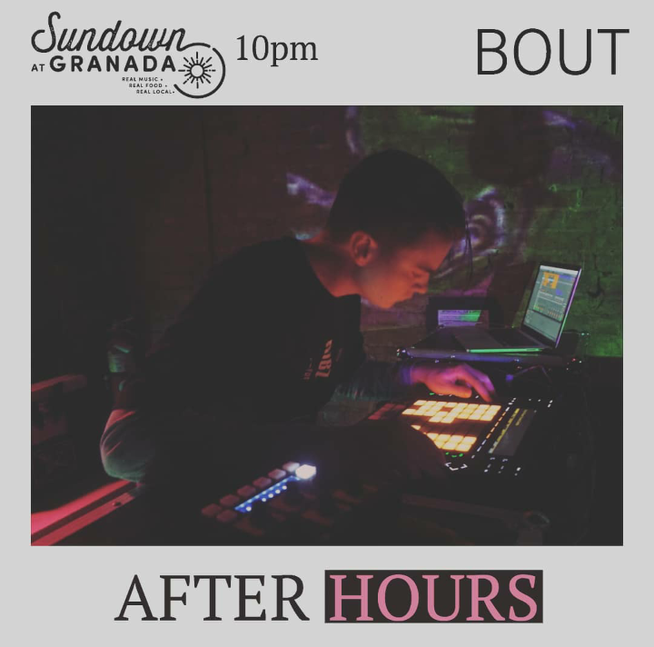 BOUT - When Crowd Control ends at 10pm, we'll be moving the party downstairs to Sundown at Granada where BOUT will be spinning some tracks til midnight!