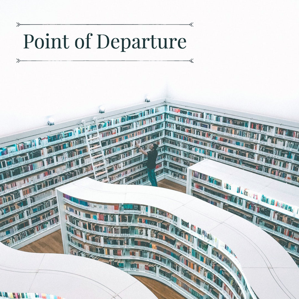 point of de·par·ture - the starting point of a line of thought or course of action; an initial assumptionPOINT OF DEPARTURE is a literary interview series focused on writers and poets living in Dallas, Texas. It is a joint venture between Wavelength Magazine and Forecast Gallery.