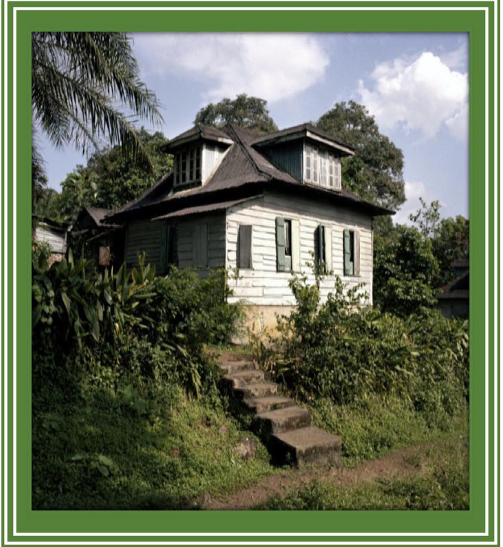 'LOƝTƐM CRÉOLE BɔD OSE', Historic Creole Board House