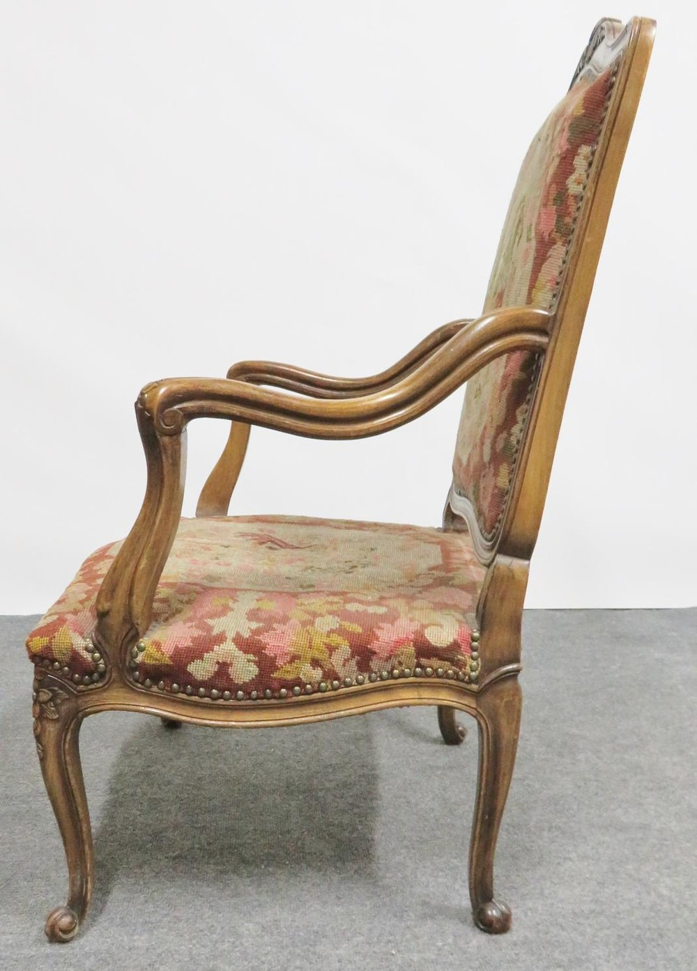 Louis Xv French Abusson Chair 8787