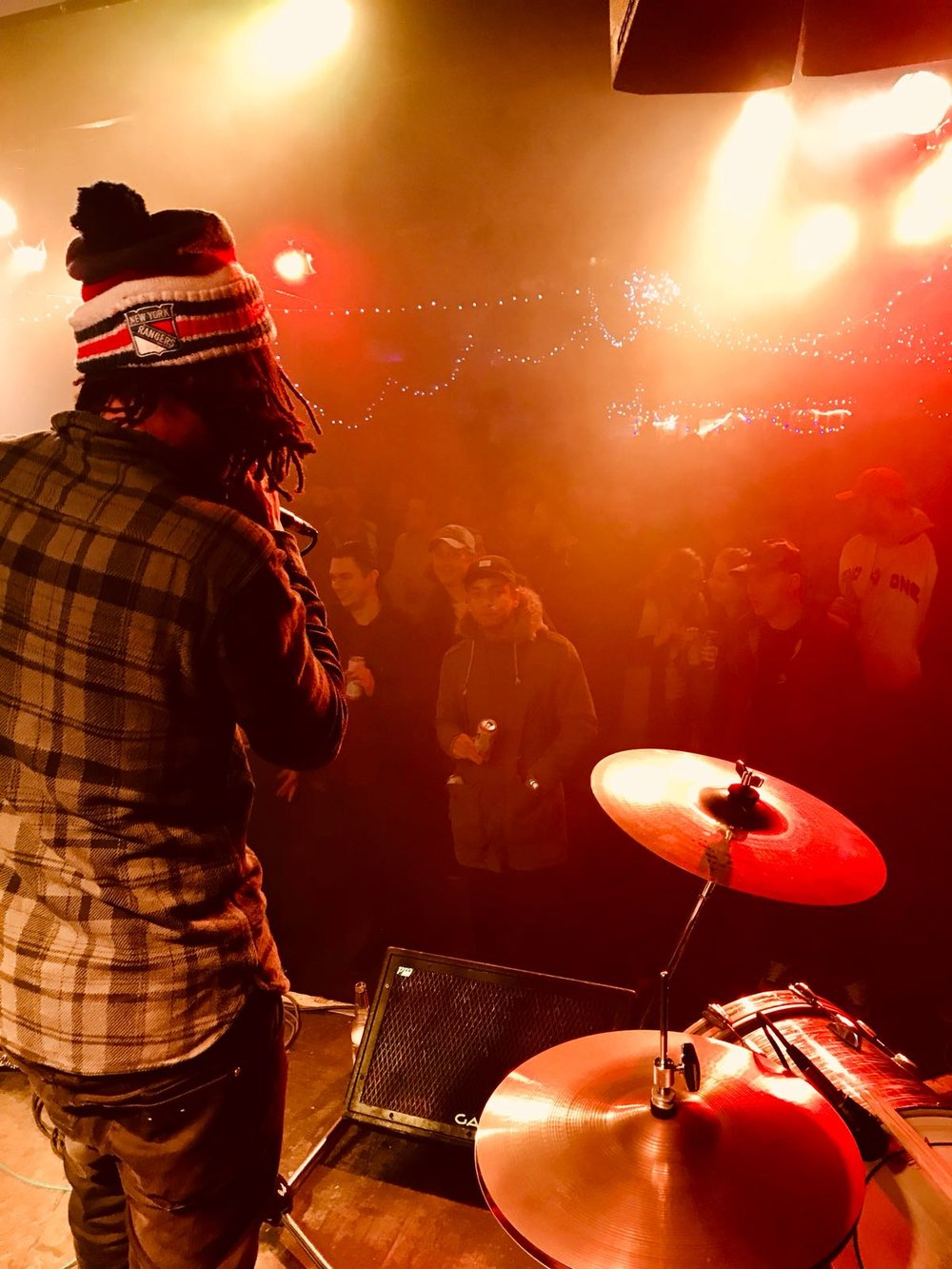 Our view from the stage, featuring Dwella... Opening for Pharoahe Monch