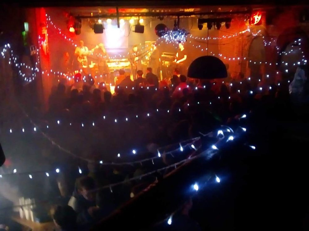 View from the mixing desk of the SOLD OUT Tunbridge Wells Forum, as we open for Pharoahe Monch