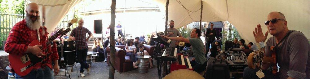 The drummer's view - Unfest Sunday Sessions, Tunbridge Wells Forum
