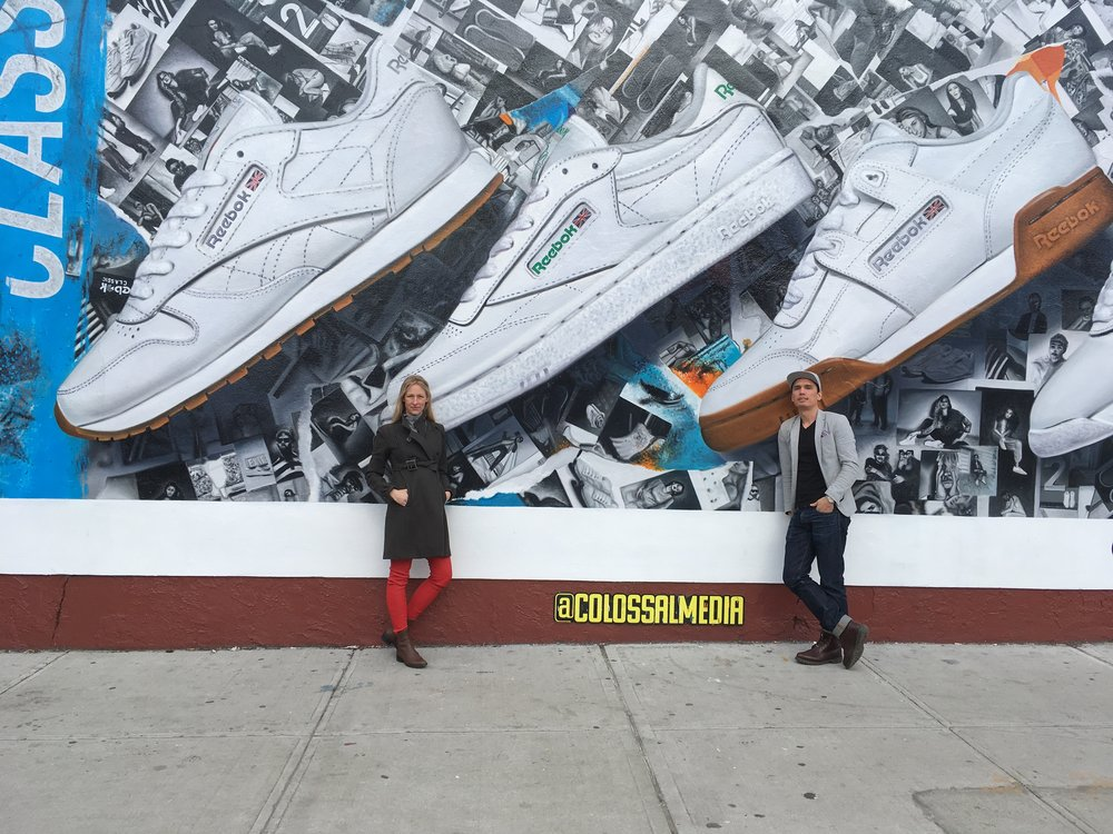 Stefania and Yian.Bushwick, NY