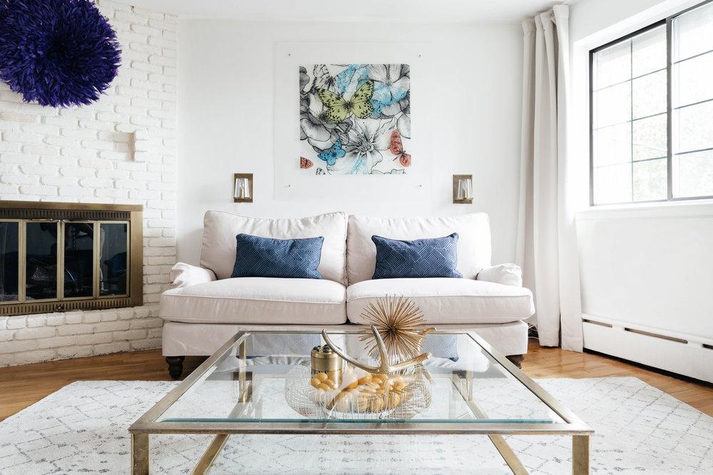 MONICA & RAY - // Queens garden apartment