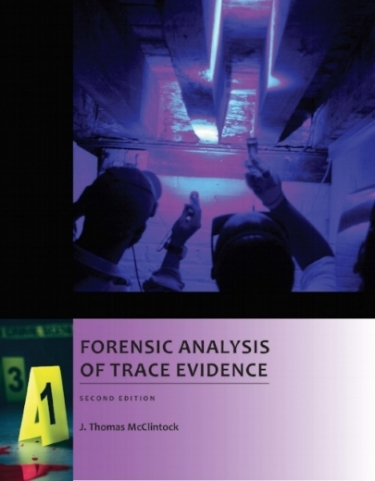 Features  - 1.  Presents protocols for performing trace evidence analysis2.  Introduces the reader to the science of trace evidence analysis3.  Focuses on basic techniques used in crime scene investigations and forensic science laboratories4.  Provides exercises on evidence collection, forensic microscopy, examining human/animal hair and fiber, bloodstain patterns, and paint and glass analysis5.  Includes a glossary of trace evidence terminology ISBN  9781682844946 $59.95 (plus shipping/handling)