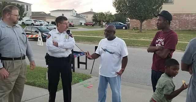 I was glad to have the opportunity to be able to talk to our neighbors and members of our law enforcement community at our #nationalnightout block party last Tuesday. It's time that we worked for efficient and fair law enforcement distribution and practices here in Bell County and that we work to support our law enforcement officials and bring them closer to our communities here in Bell County! Help me build that at bit.ly/electdriver!  #killeentx #lawenforcement #Killeen #texaspolitics #texas