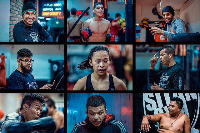 The Muay Thai Bunch . . . . @sitangymny @coronam112 @tigran_duvenjian @joelsitangym @o_0mar @southpaw_jess @aziznabih @sitthichai_sitsongpeenong @geoffrey_then #muaythai #portraits #sitan #fighters