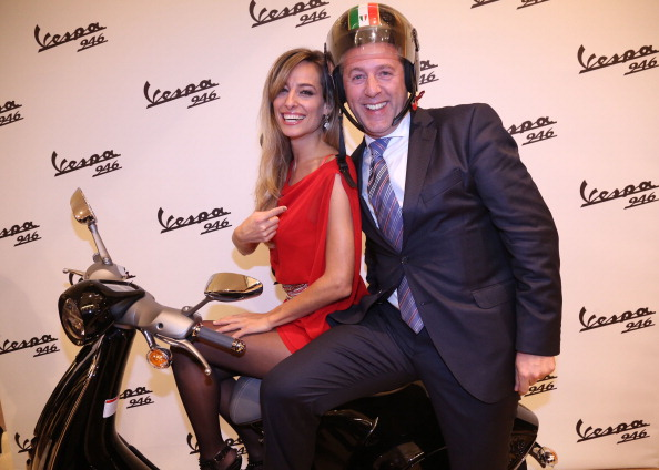 Jessica as host and celebrity spokesperson for the launch of the new Vespa at the NYC 5th Ave showroom