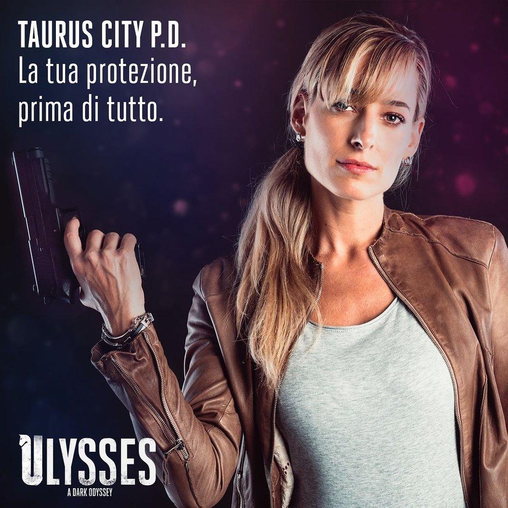 """Foto promozionale del personaggio di Jessica per il film """"Ulysses"""""""