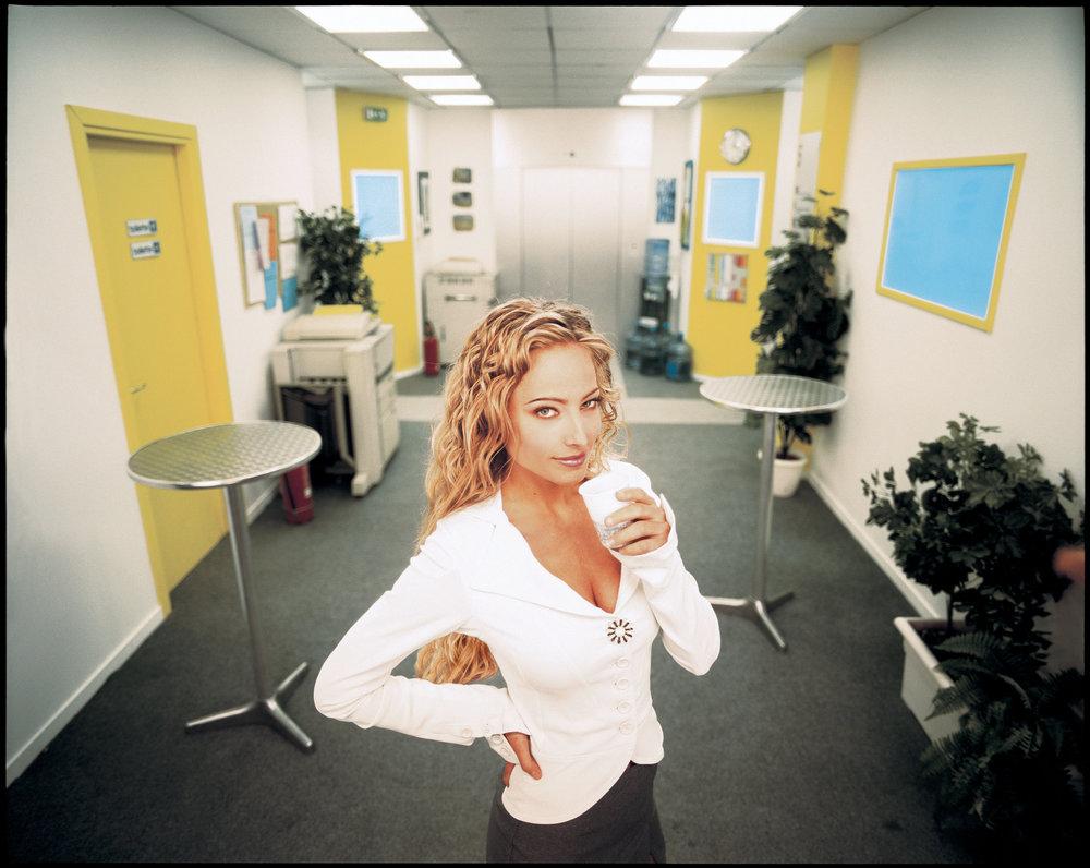 Il ritratto promozionale ufficiale di Jessica per Camera Cafe'