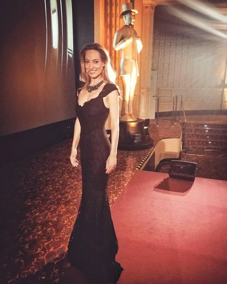 Jessica alla conduzione di una serata di premi