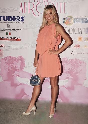 Jessica e' ospite alla serata dei premi cinematografici Premio Afrodite