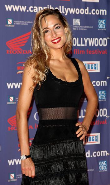 Jessica sul tappeto rosso del Capri Hollywood Film Festival