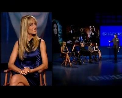 Jessica ospite da Gigi Marzullo per la trasmissione Il cinematografo