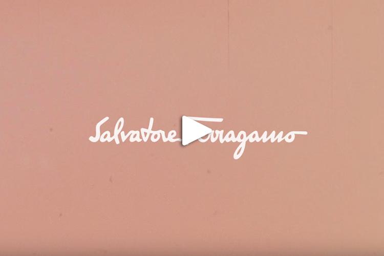 Jessica e' la voce della campagna mondiale dei profumi Salvatore Ferragamo