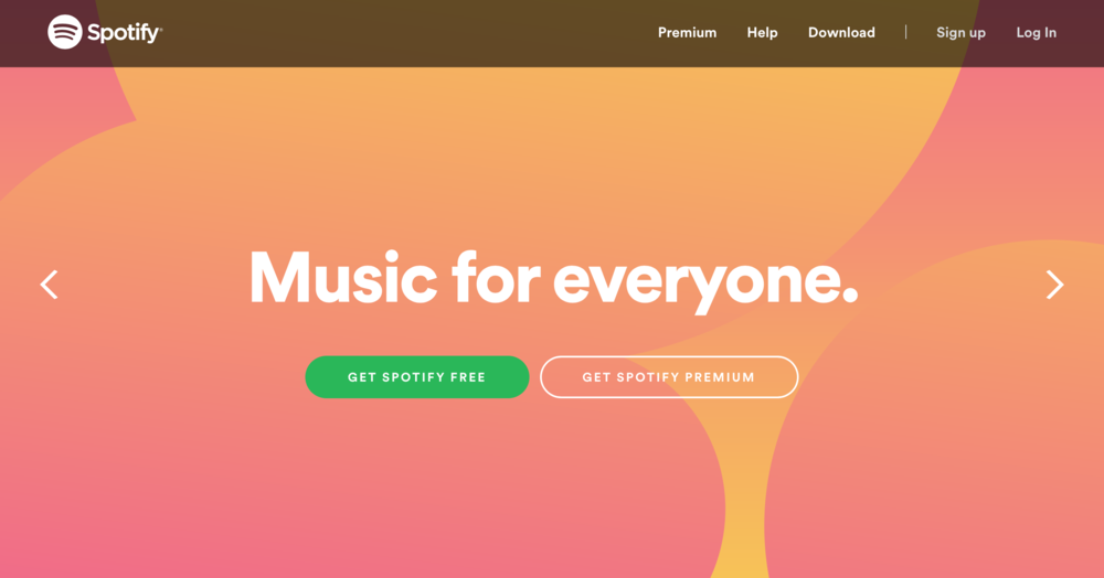 Spotify value prop