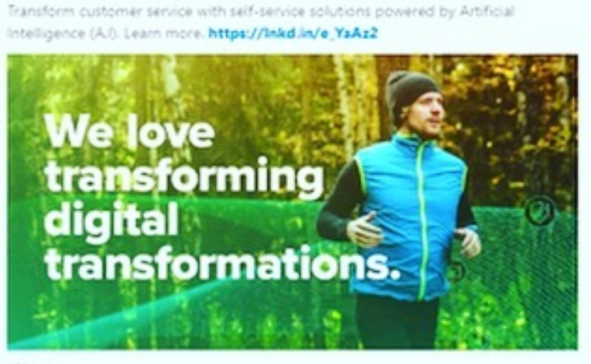 Transforming transformation? Soooo innovative! Screenshot from the  CB Insights newsletter .