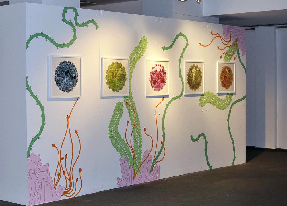 Urban nature,  2018. Collective exhibition, Cultural Center of Saint-Gilles, BRUSSELS, Belgium.