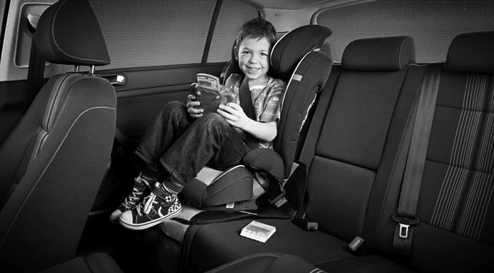 Airport Shuttle With Car Seat