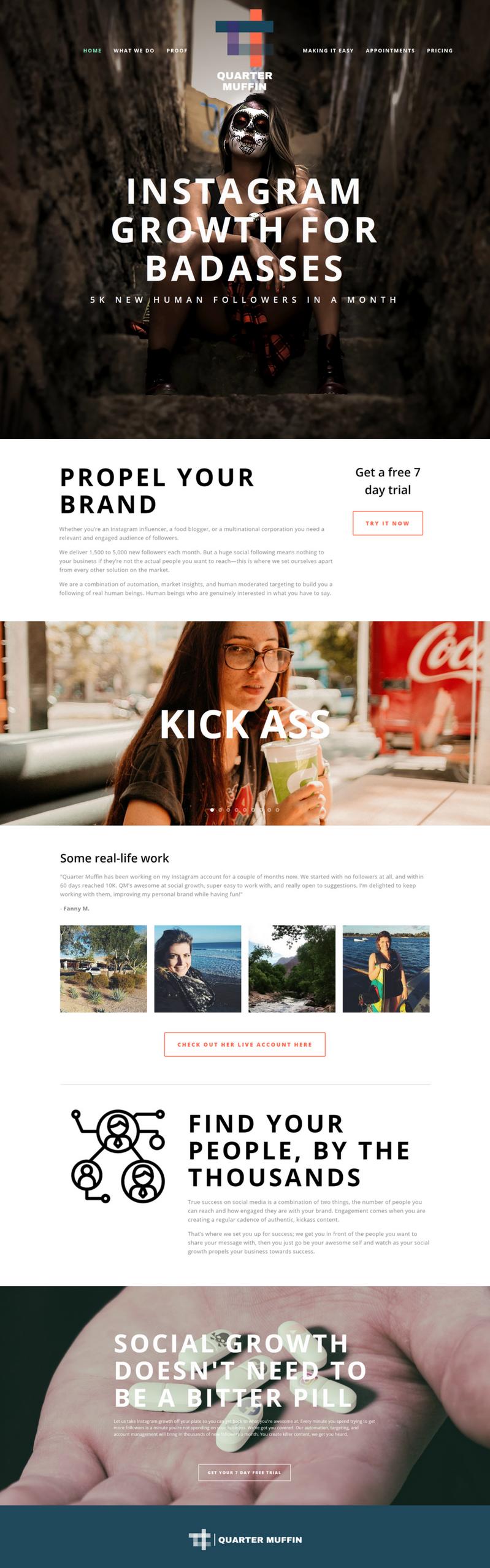 Milone and company web design