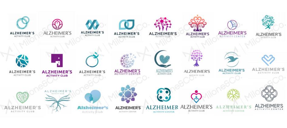 Milone and company logo design