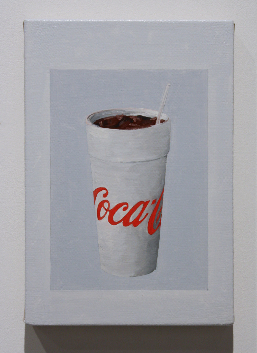 """Untitled, (Coke)"", 2016 , oil on linen, 12 x 8 inches"