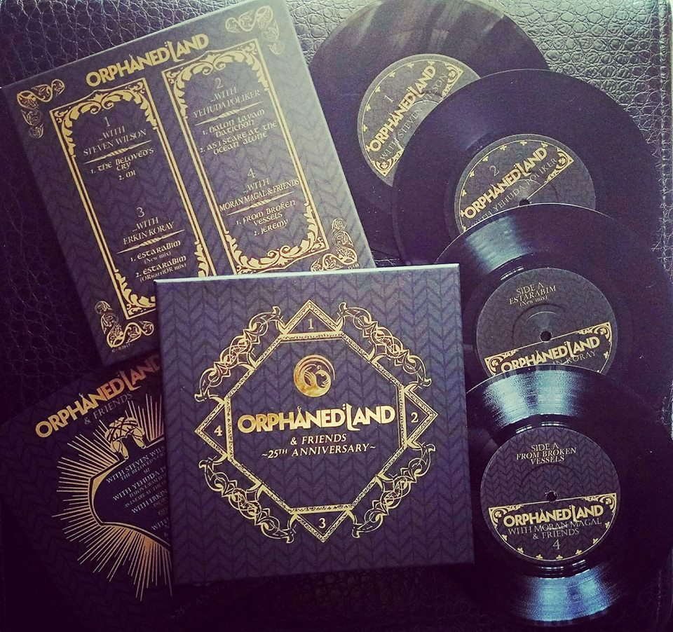 """25th anniversary compilation """"Orphaned Land & Friends"""""""