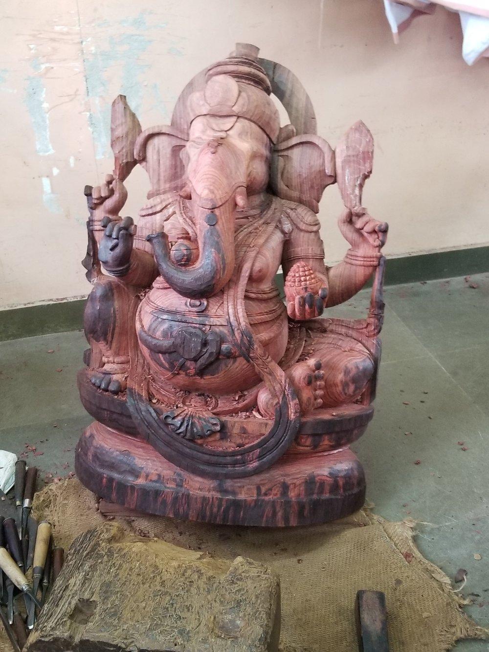 3 foot tall Ganesh