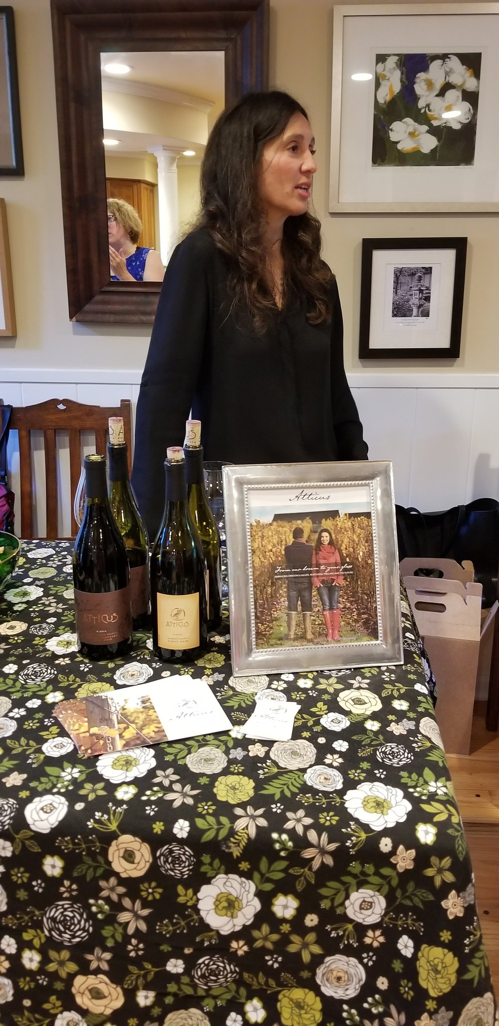 Ximena from Atticus sharing her wares