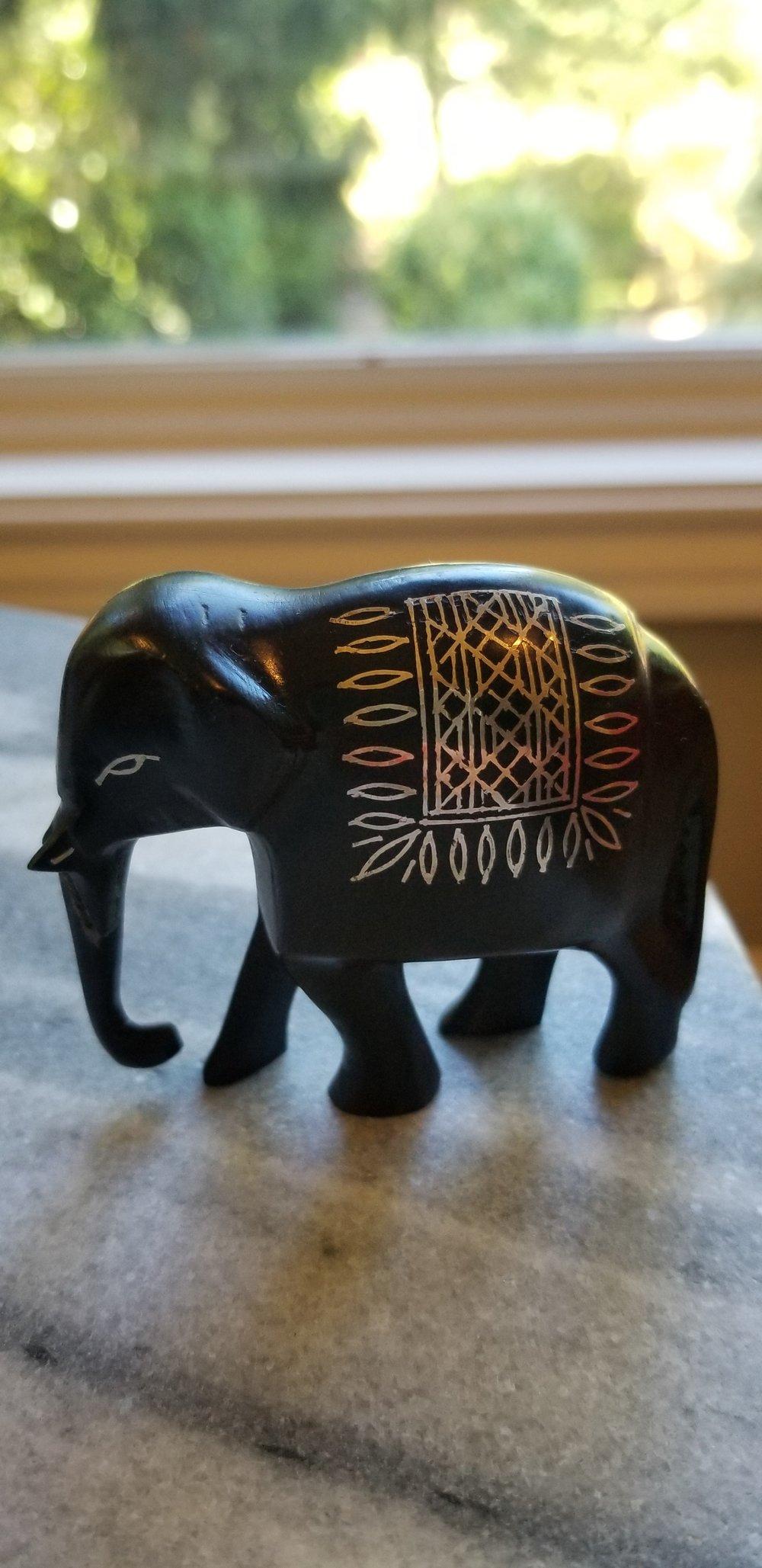 Bidriware elephant