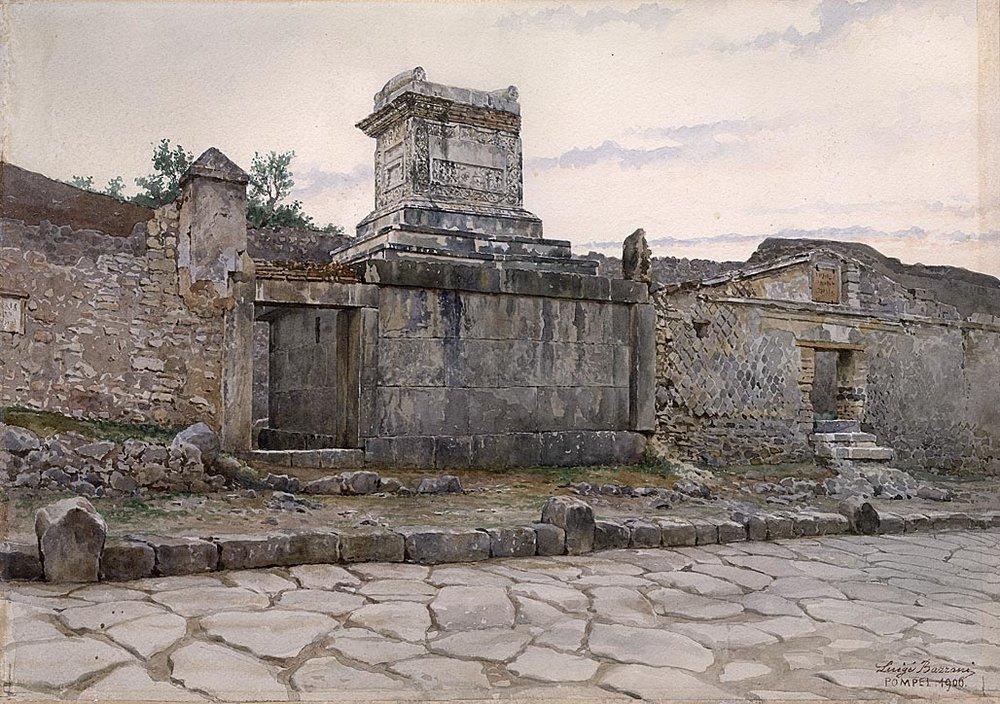 Luigi Bazzani<br><small>(Bologna 1836 - 1927 Rome)</small>