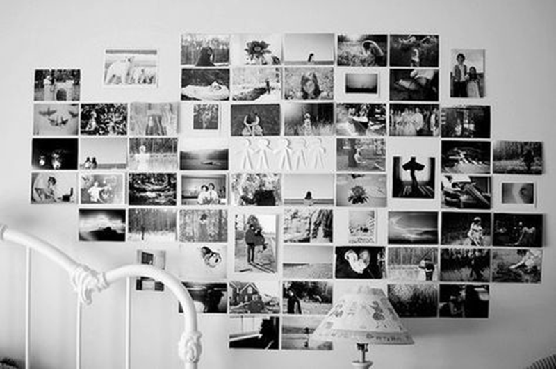 Wall Collage Without Frames