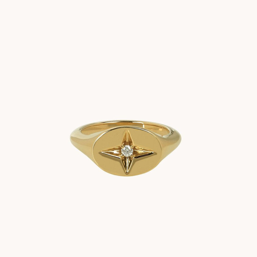 Guiding Star Pinky Ring  $1,543.00