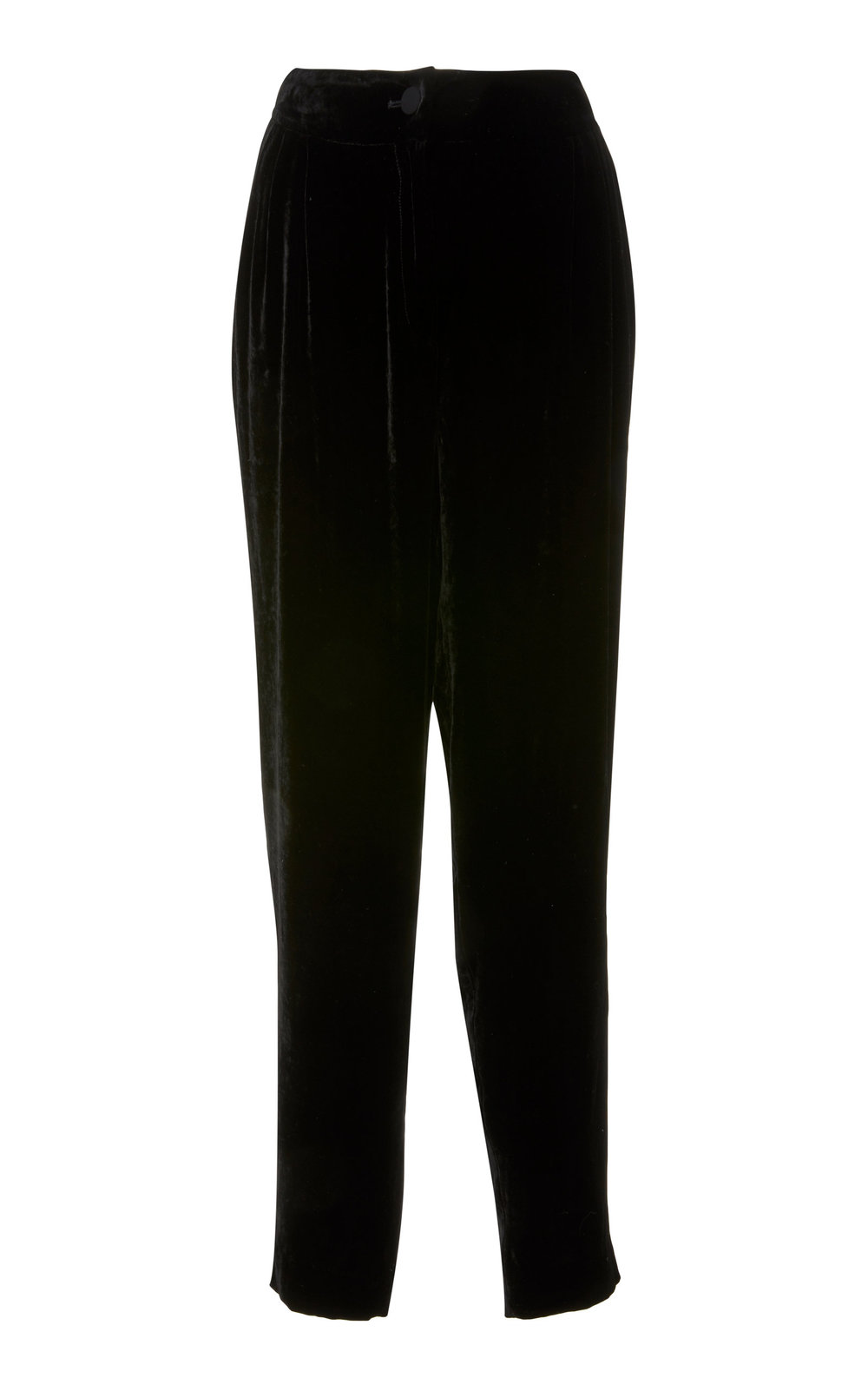 Azalea Velvet Pants - BLACK  These leisure pants are a contemporary classic with their Velvet effect and easy fit. A modern balance between sporty and dressed, these pants are a wardrobe staple.