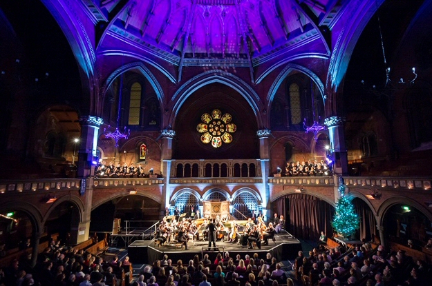 Messiah in Cambridge - Performance of Handel's Messiah with the Choir of Clare College and the Orchestra of the Age of Enlightenment at the St John's College Chapel in Cambridge on 2 December 2017Graham Ross conductorThe Choir of Clare College, Cambridge Elin Manahan Thomas sopranoLaurence Zazzo countertenorAndrew Tortise tenorJonathan Brown bass