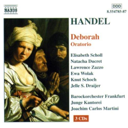 Handel's Deborah - Junge Kantorei, FrankfurtJoachim Martini, dir.NaxosClick here to order from Amazon