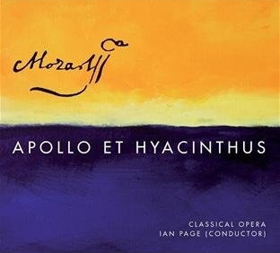 Mozart's Apollo et Hyacinthus - Lawrence sings sing Apollo on a new recording of Mozart's first opera, Apollo et Hyacinthus, just released on Linn Records, in conjunction with a Gala performance at Cadogan Hall, London.Click here to order from Amazon