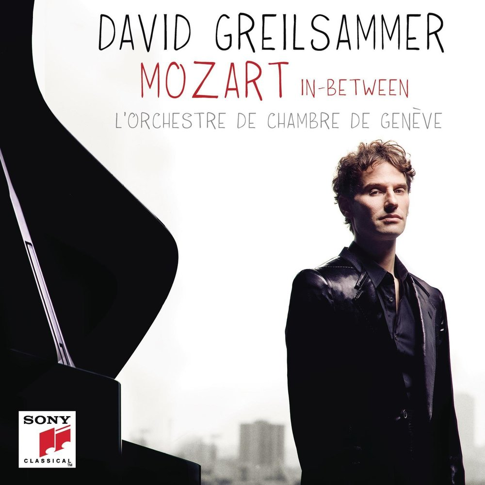 Mozart In-Between - David Greilsammer - Delighted to have been asked to be a part of talented young conductor and pianist David Greilsammer's new recording for Sony with the Geneva Chamber Orchestra,