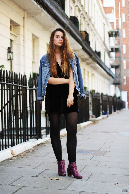 48d4b75a108 Dress - Missguided (similar), belt - Missguided, shoes - eBay (Asos  originally), denim jacket - Depop, ring - Bloody Mary Metal.