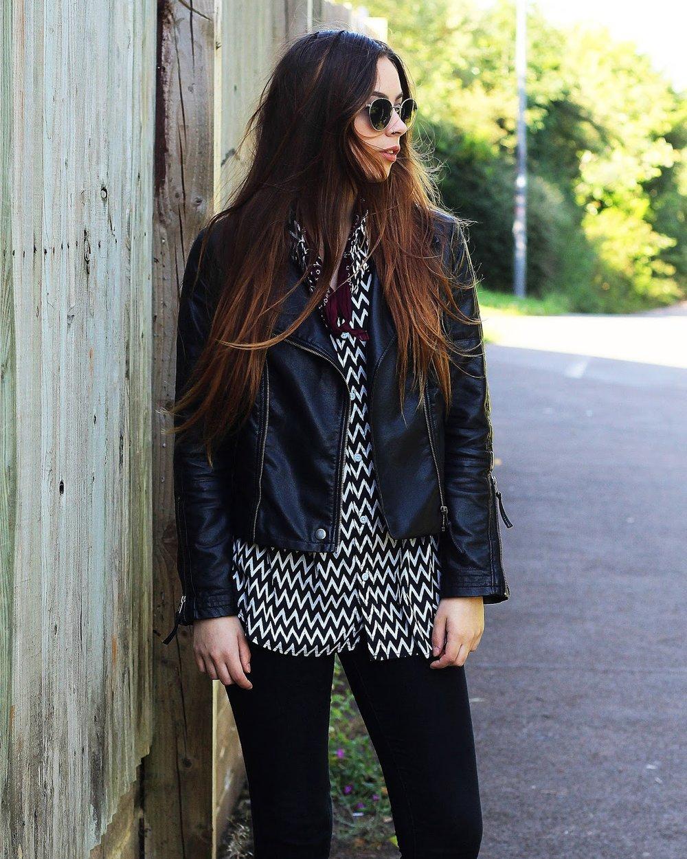 9bb84dc5d9 Shirt - Primark, jeans - Primark, jacket - Primark, shoes - Vans Classics,  sunglasses - Matalan, bandana - Claires Accessories.