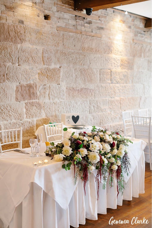 Bridal Table Centre Piece