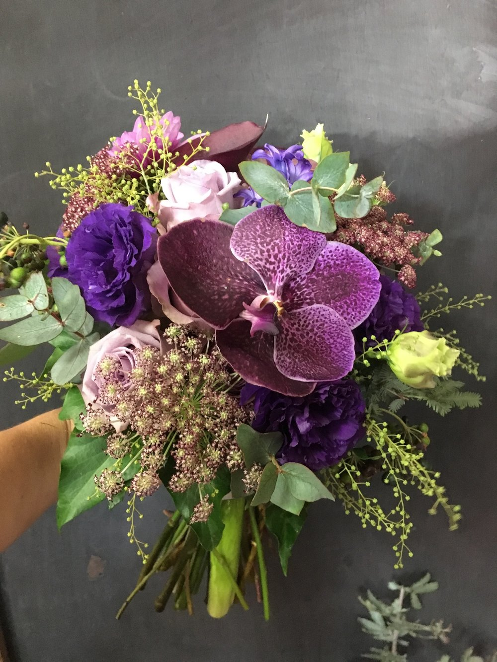 Natural Hand Tied Bridal Bouquet