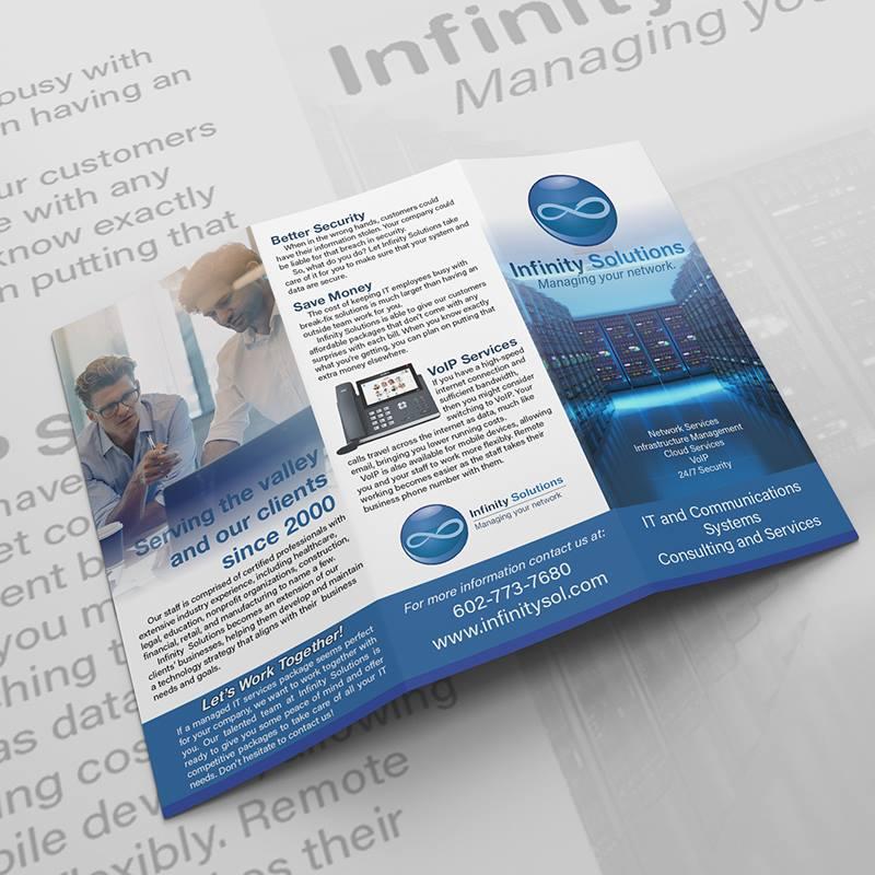 Infinity Solutions Brochure - outside